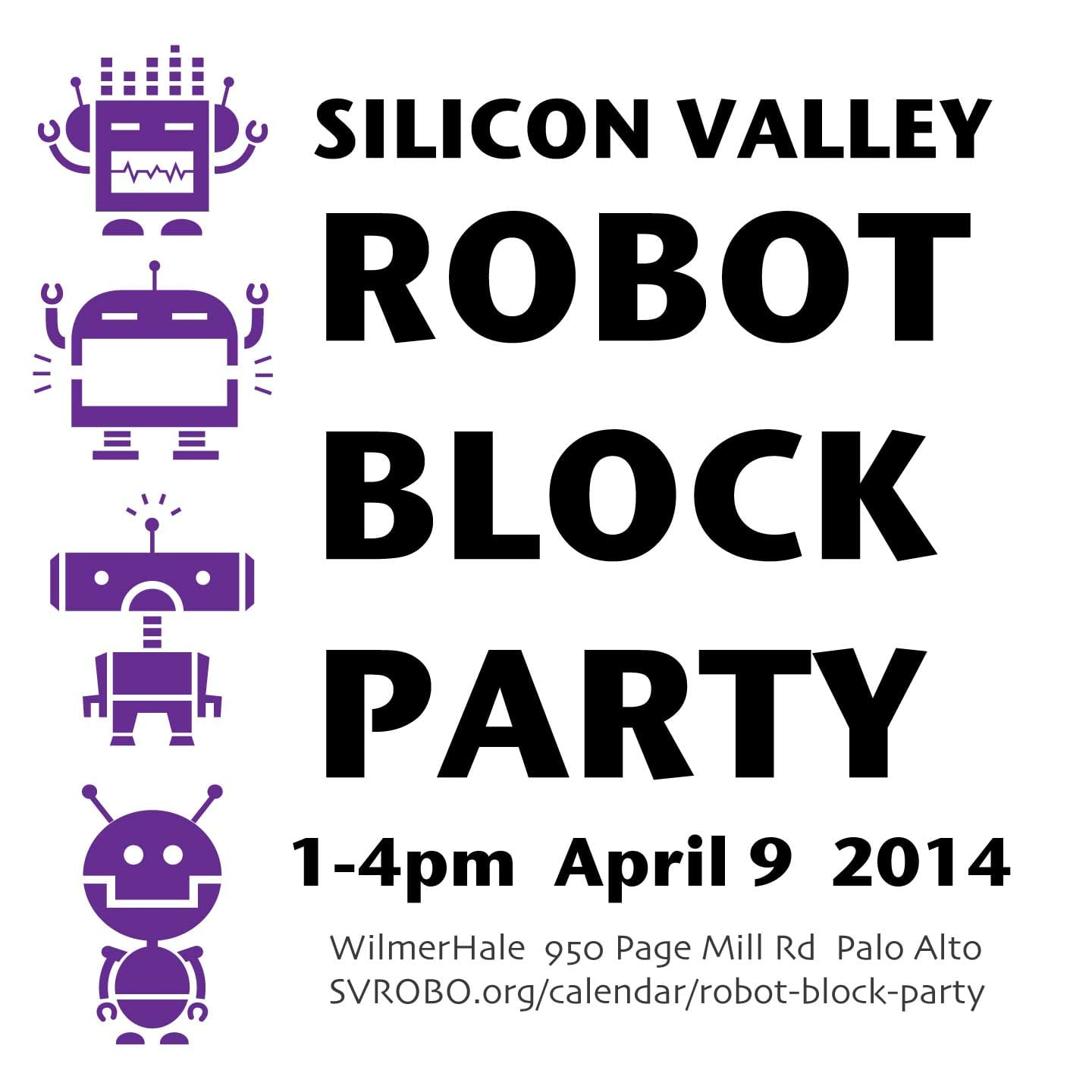 Robot Block Party logo